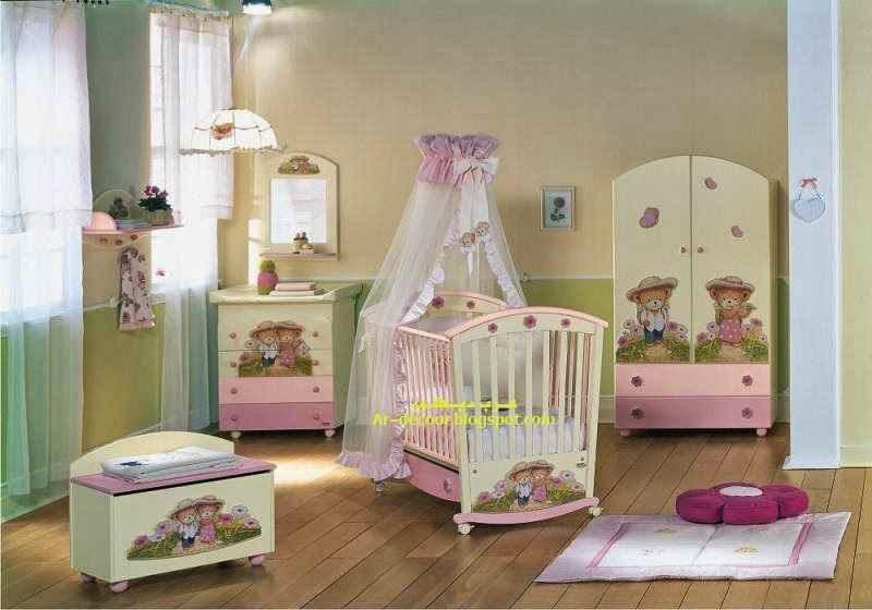 افكار وديكورات غرف الاطفال الجديدة